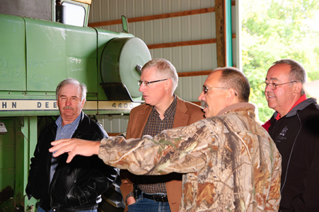 Ministerial visit to Fort Vermilion