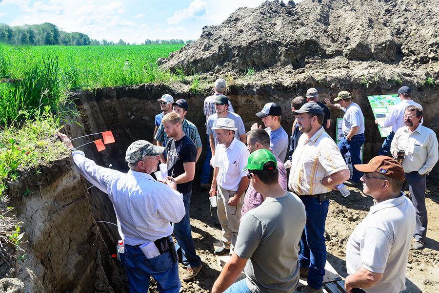 Soil health field tour