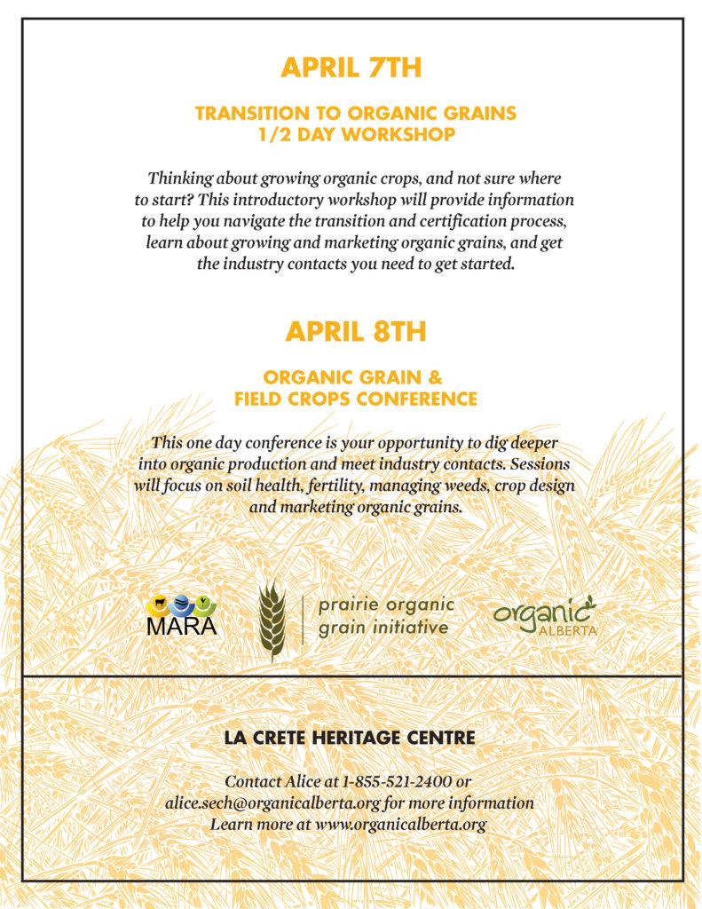Organic Alberta Conference