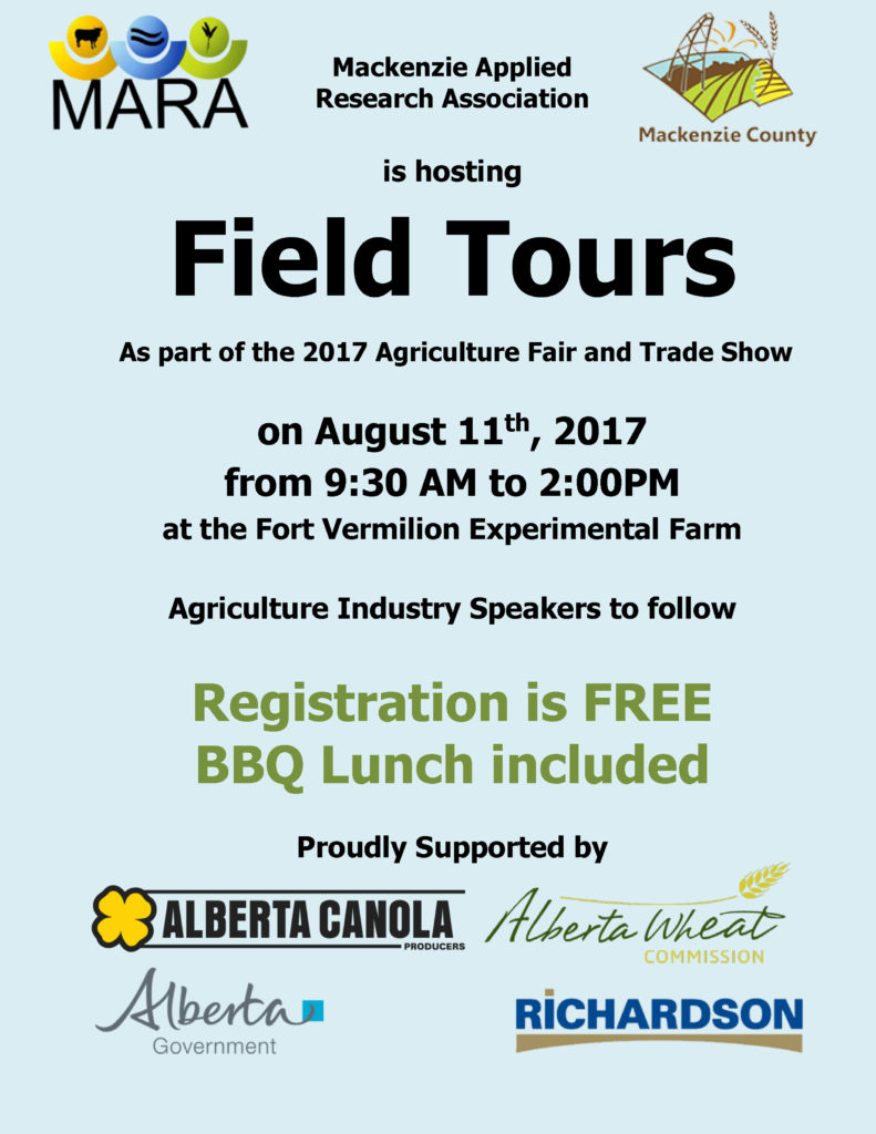 Northern Alberta Agriculture Fair and Trade Show-August 11 2017