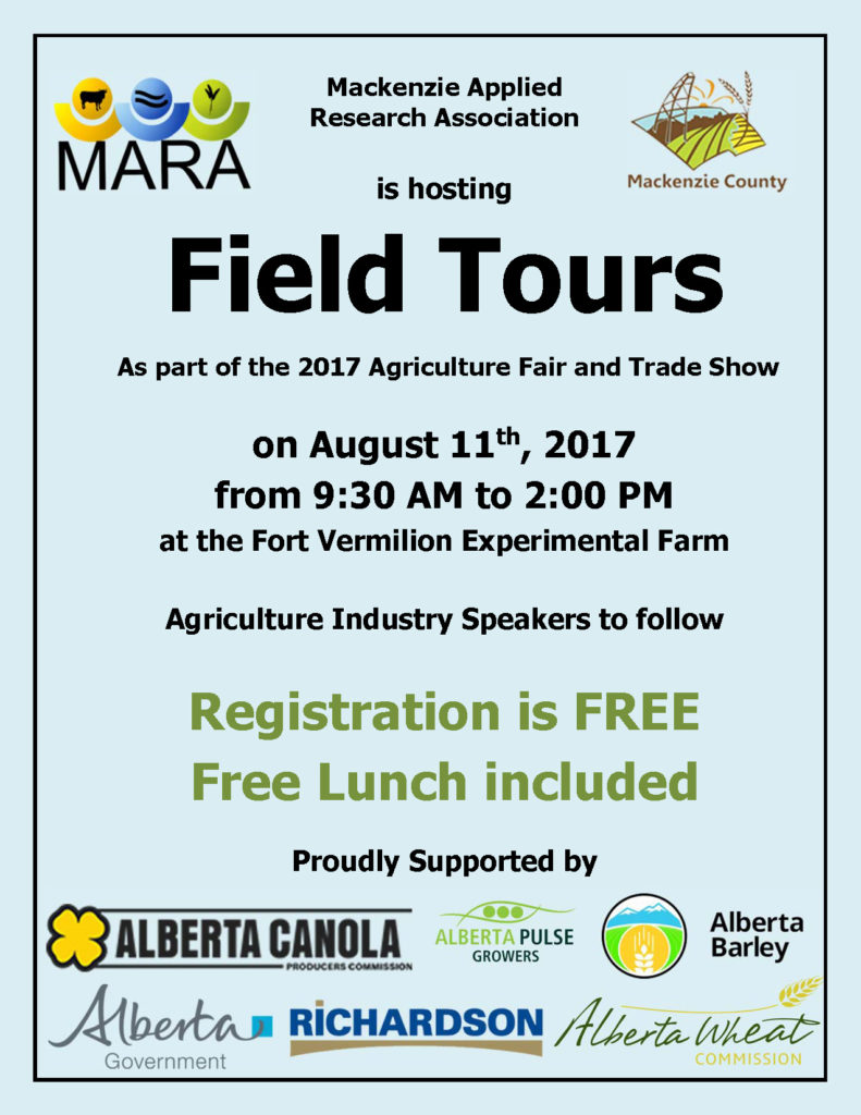 Field tours in Northern Alberta