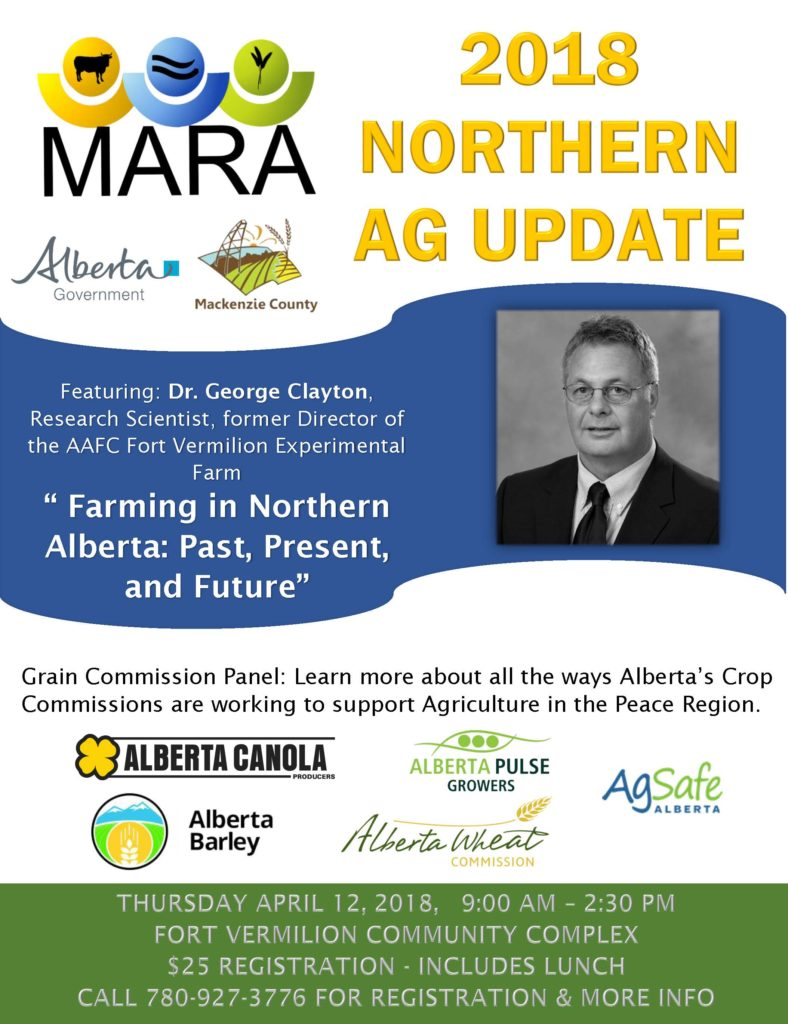 Northern Ag Update 2018