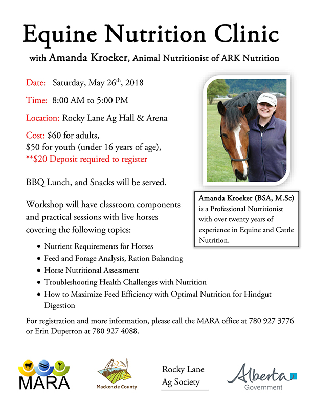 Equine Nutrition Clinic